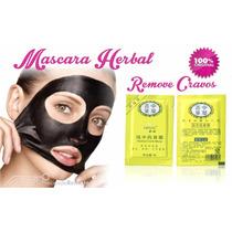 10 Unidades Herbal Mascara Removedor Tira Cravos Do Nariz