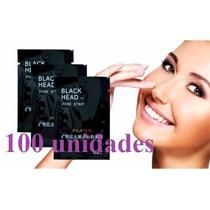 100 Black Head Pilaten Máscara Remov.de Cravos Nariz E Pele