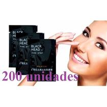 200 Black Head Pilaten Máscara Remov.de Cravos Nariz E Pele