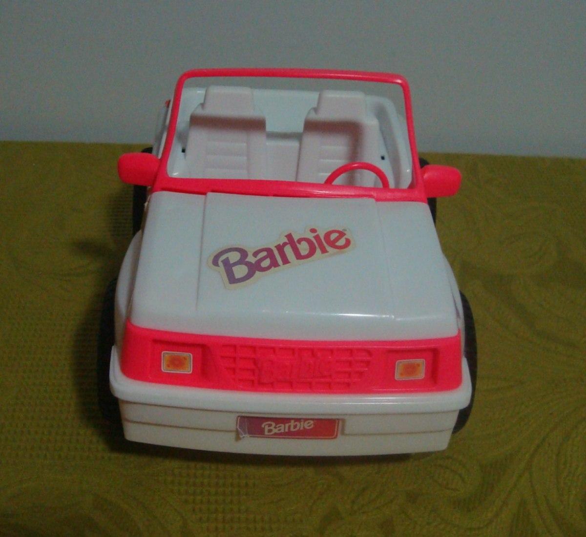 Lindo Jeep Da Barbie - Anos 90 - R$ 50,00 no MercadoLivre