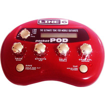 Pedaleira P/ Guitarra Line 6 Pocket Pod Mini 5155