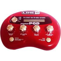 Pedaleira Guitarra Pockte Pod Line 6