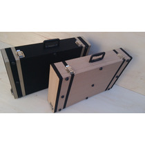 Case Flat 60x40 P/ Pedal Pedaleira + Velcro!