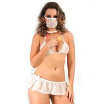 Mini Fantasia Doutora Ii Pimenta Sexy - Shopsensual Sex Shop
