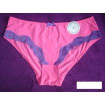 Calça Coleçon Rosa De Microfibra Importado Design Íntimo G