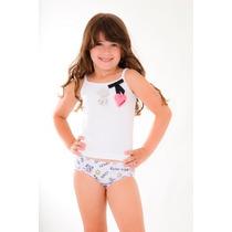Calçolinha Em Algodão Infantil Loback- Kit Com 6 Peças