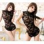 Lingerie Sexy Body Mini Vestido Estilo Japones C218