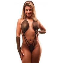 Lingerie Conjunto Feminino Jade Preto [ Sexy Sensual ]
