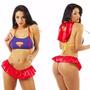 Fantasia Erótica Super Girl Sexy