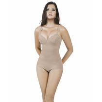 Modelador Yoga Pernas Bojo C Renda E Alça Regulável 3001ssr