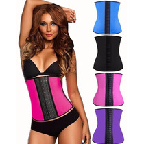 Cinta Modeladora Afina Cintura 9 Hastes Aço Kim Kardashian