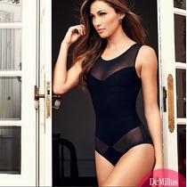 Body Modelador E Body Rendado / Demillus