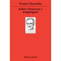 Livro Sobre Natureza E Linguagem De Noam Chomsky - Novo