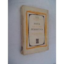 Nova Análise Semántica - Linguistica