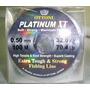 Linha De Pesca Platinum Xt 0.50mm. Pct C/10 Rolos. Ctba, Pr