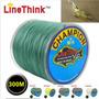 Linha Multifilamento 300m 8 Fios 16 A 200 Lb + 10 Camarão
