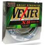 Linha Multifilamento Vexter X8 0,29mm 40lb 300 Metros 8 Fios