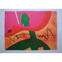 Gravura - Litografia - Gilberto Salvador - 50x53 Frete Free