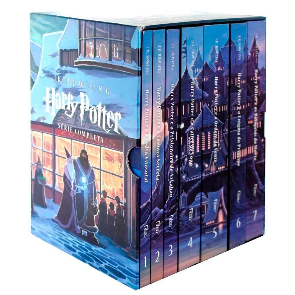 Armario Nicho Aereo ~ Livro Box Coleç u00e3o Harry Potter J k Rowling 7 Volumes R$ 207,00 no MercadoLivre