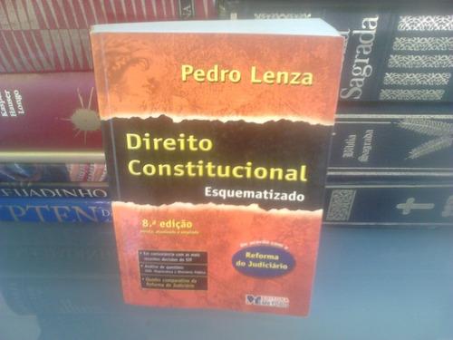 Livro - Direito Constitucional Esquematizado Pedro Lenza