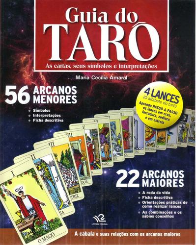 Livro Guia Do Tarô