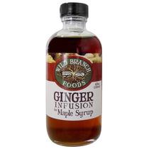Wild Branch Foods Ginger Infundido Xarope De Bordo, 4oz