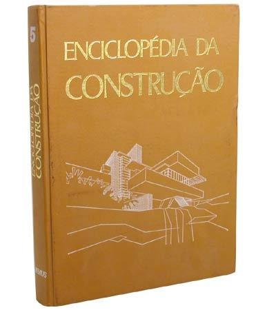 Livros - Enciclopédia Da Construção - 05 Volumes
