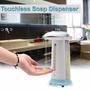 Saboneteira Dispenser Automátic Sabão Sensor 400ml Pefg