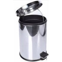 Lixeira Em Aço Inox - 3 Litros (ideal Para Banheiro)
