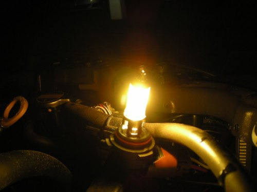 Lâmpada Amarela Efeito Xenon 55w 3000k Golden H1 H3 H11 Hb4