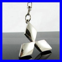 Chaveiro Mitsubishi Cromado - Lindo & Chique !!!
