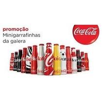 Mini Garrafinhas Da Galera Coca Cola 2015 Em Alumínio
