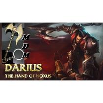 Lol League Of Legends Machado Darius Chaveiro Importado Novo