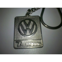 Antigo Chaveiro Volkswagen Guanauto Veiculos
