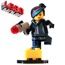Lego Movie - Lote C/ 6 Minifiguras (wyldstyle &city Workers)