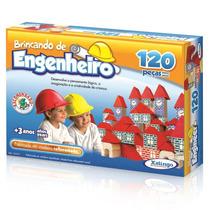 Brincando De Engenheiro 120 Peças - Xalingo - Pronta-entrega