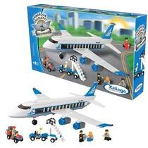 Embarque Imediato Avião De Passageiros - 434 Peças - Xalingo