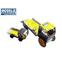 Brinquedo De Montar Modelix 502 Mobil 2 Carro Guincho