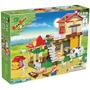 Brinquedo De Montar Casa Da Fazenda 390 Pcs