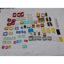 Lote Lego Janelas / Vidros / Portas / Cercas Otimo Estado