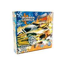 Quebra Cabeça De Carros 100 Pçs Brinquedo Infan Frete Grátis