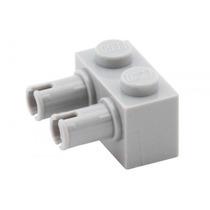 Lego Technic 4 Peças Brick 1x2 C/ 2 Pinos - Pn 30526