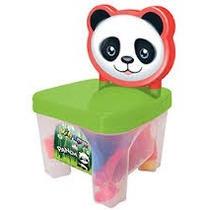 Kidverte Panda Blocos Brinquedo Bebe Divertido Big Star