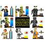 8 Bonecos Da Série Star Wars Frete Grátis Compatível Lego