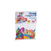 Brinquedo Educativo Pinos Magicos - 100 Peças - Elka