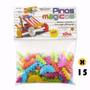 Kit 15 Pinos Magicos - 100 Peças - Elka