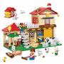 Brinquedo De Montar Lego Casa Da Fazenda 390pcs Banbao