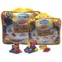 Blocos P/ Montar, Sacola C/ 500 Pcs | Brinquedos Pedagógicos