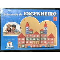 Brinquedo Antigo - Brincando De Engenheiro Xalingo - Lacrado