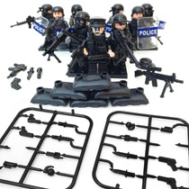 Lego Bope Swat Polícia Tropa De Elite City Riot Control Lote